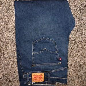 Levi's 541 medium wash jeans